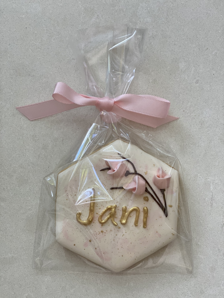 Place Card Cookie