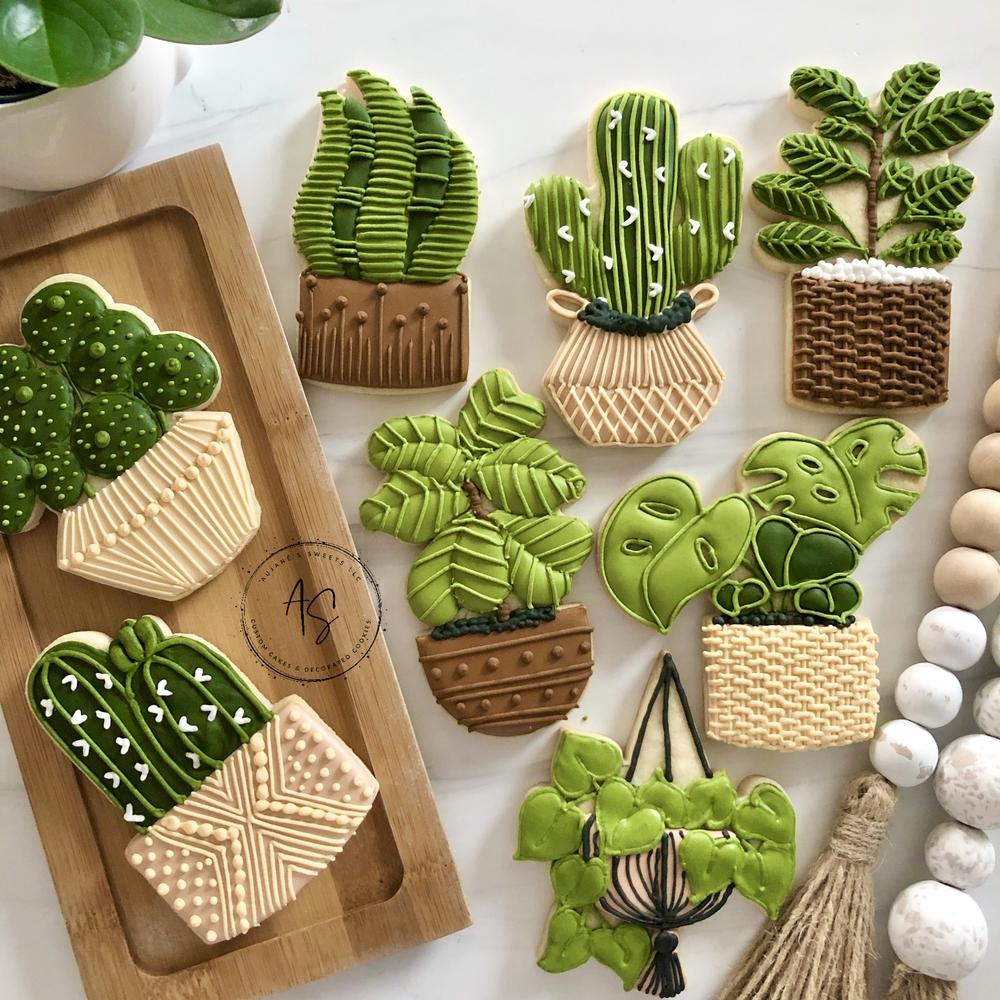 Plant Cookies