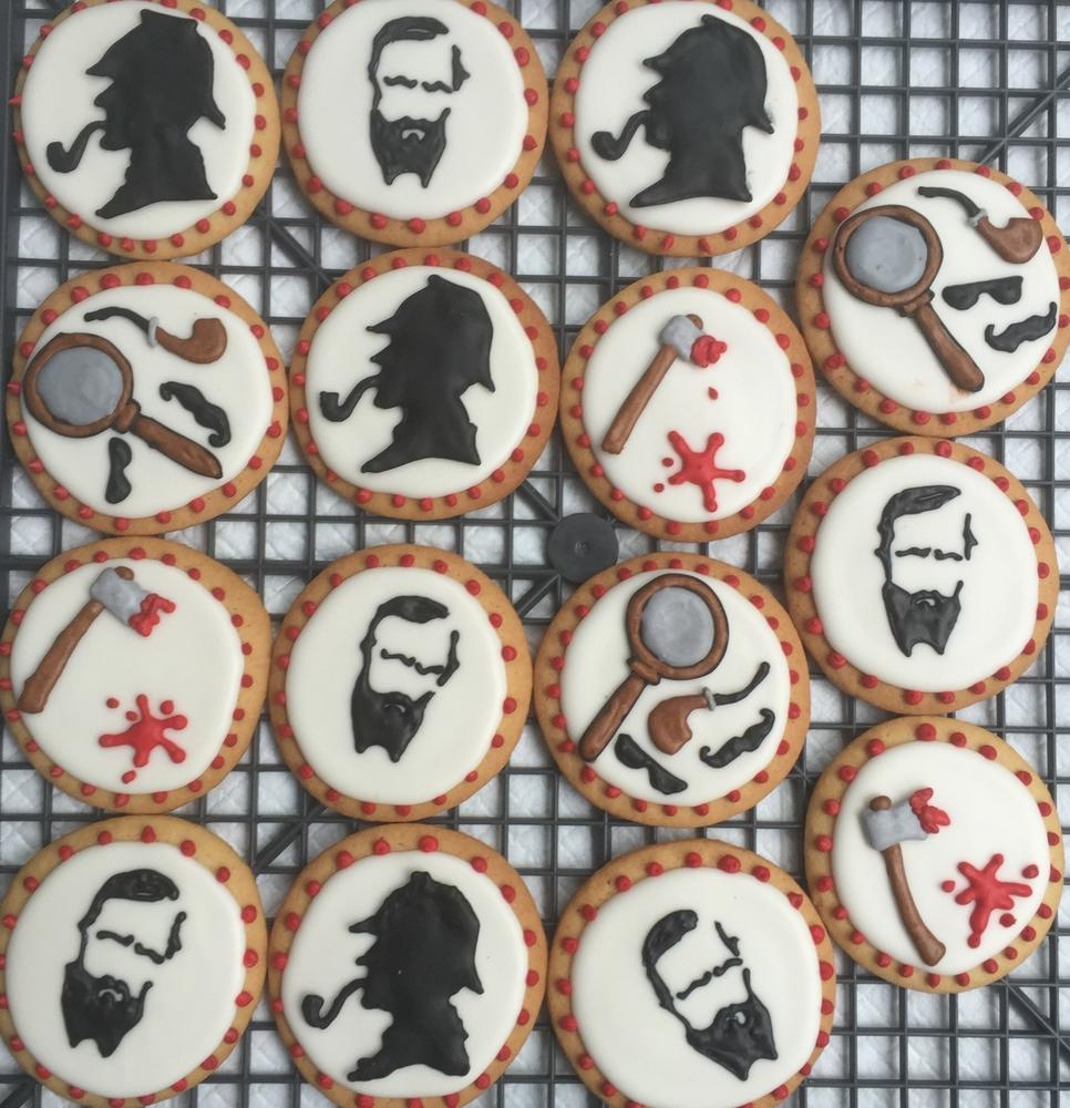 Lit Girl Cookies