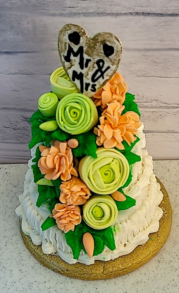 Stacked Wedding Cake Cookie