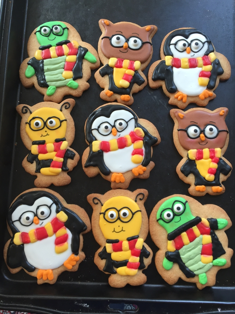 Harry Potter Fans for Icing Smiles