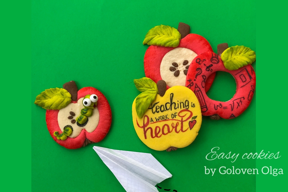 Merry Apples for Teacher & No Icing