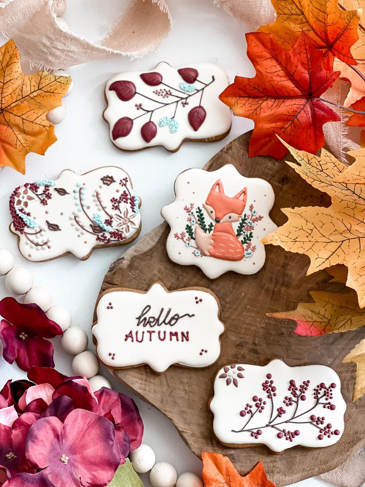 Fall Cookies by Kasia Lukrowana